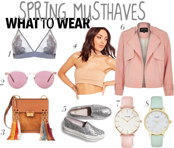 spring musthaves