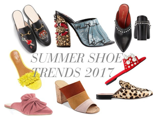 SUMMER SHOE TRENDS 2017